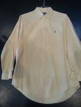 Polo Ralph Lauren 1990's Yellow Oxford Large Excellent condition!!! - $66.71 CAD