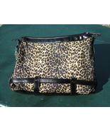 Massini Black w/ Leopard Design Handbag Purse NWT - $15.00