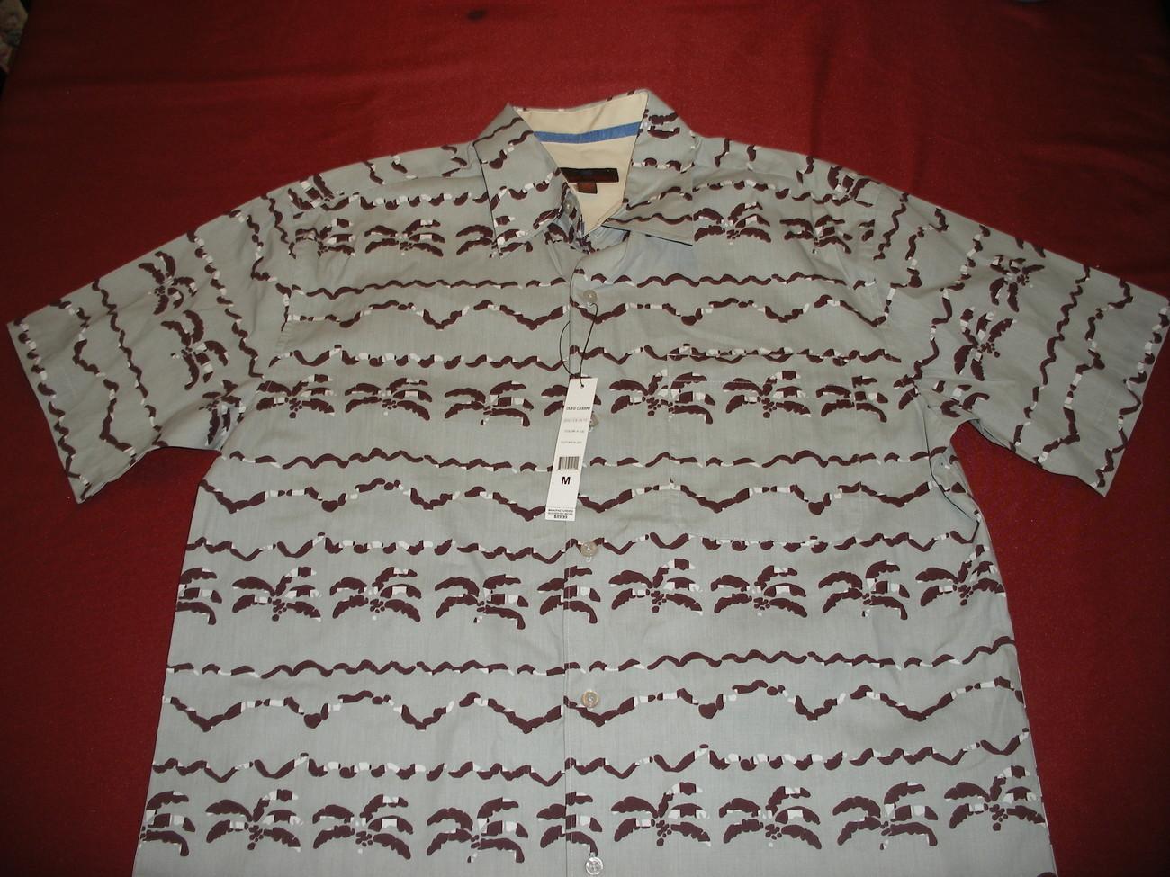 OLEG CASSINI Mens shirt size Medium NWT - $15.49