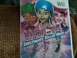Nintendo Wii  Monster High: Skultimate Roller Maze image 1