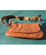 Massini Brown Studded Flap Handbag Purse NWT - $15.00