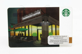 Starbucks Coffee 2011 Gift Card Twilight Storefront Green Umbrella Zero ... - $12.02