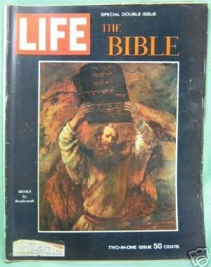 Life December 25, 1964 Special Double Issue The Bible