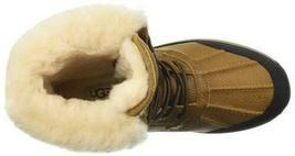 New Women's UGG Adirondack III Chestnut Waterproof Shearling Wool Boots US 10 image 4