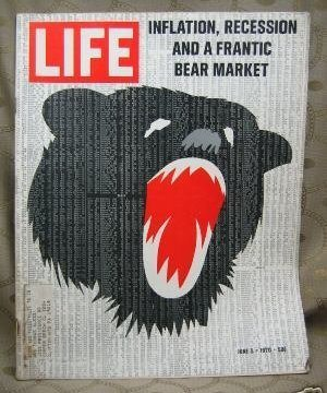 Life Magazine June 5, 1970 Inflation, Recession, Bear Market