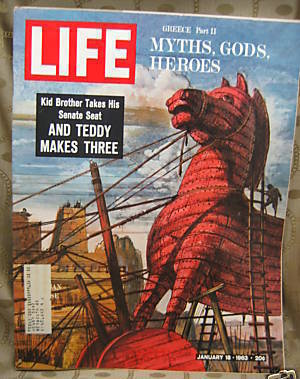 Life January 18, 1963 Greece: Myths, Gods, Heroes