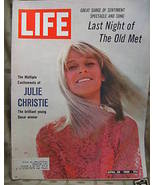 Life April 29, 1966 Julie Christie Cover - $3.99