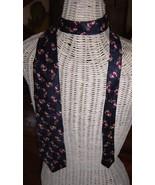 Ugly Christmas Neck Tie for Sweater Paul Fredrick Santa Waving Sack Pres... - $4.99