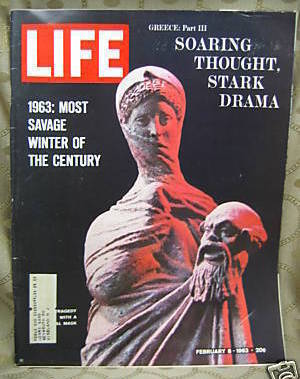 Life February 8, 1963 Most Savage Winter, Greece Part 3