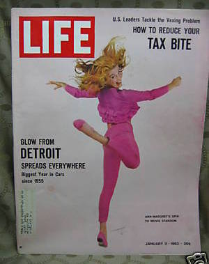 Primary image for Life Magazine January 11, 1963  Ann Margaret Cover