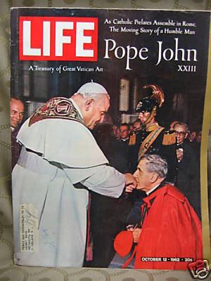 Life October 12, 1962 Pope John XXIII, Vatican Art