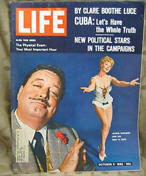 Life October 5, 1962 Jackie Gleason Sue Ann Langdon