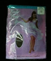 Vintage Lively Lady Sexy Nylon Stockings Seamless M 9.5-10 - $9.00