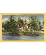 St Helena Island Thousand Islands Vintage Post ... - $3.00