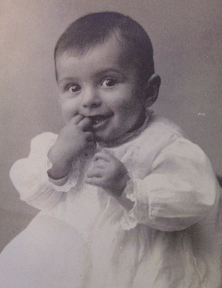 Cutest Baby Boy in World Post Card Early 1900`S Wow!