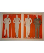 Awesome Men's Suits by Ray Wilcox - Large 2-Page 1926 Magazine Ad - $29.99