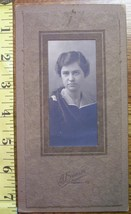 Cabinet Card Long Haired Beauty Named Early 1920`s! - $5.00