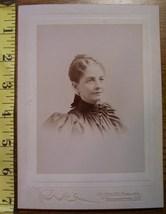 Cabinet Card Pretty Lady Vignette Washington D.C.! c.1890`s - $3.60