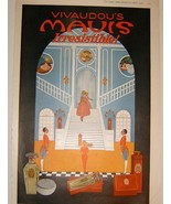 Vivaudou's MAVIS PERFUME - Large 1919 Vintage Magazine Ad - $19.99
