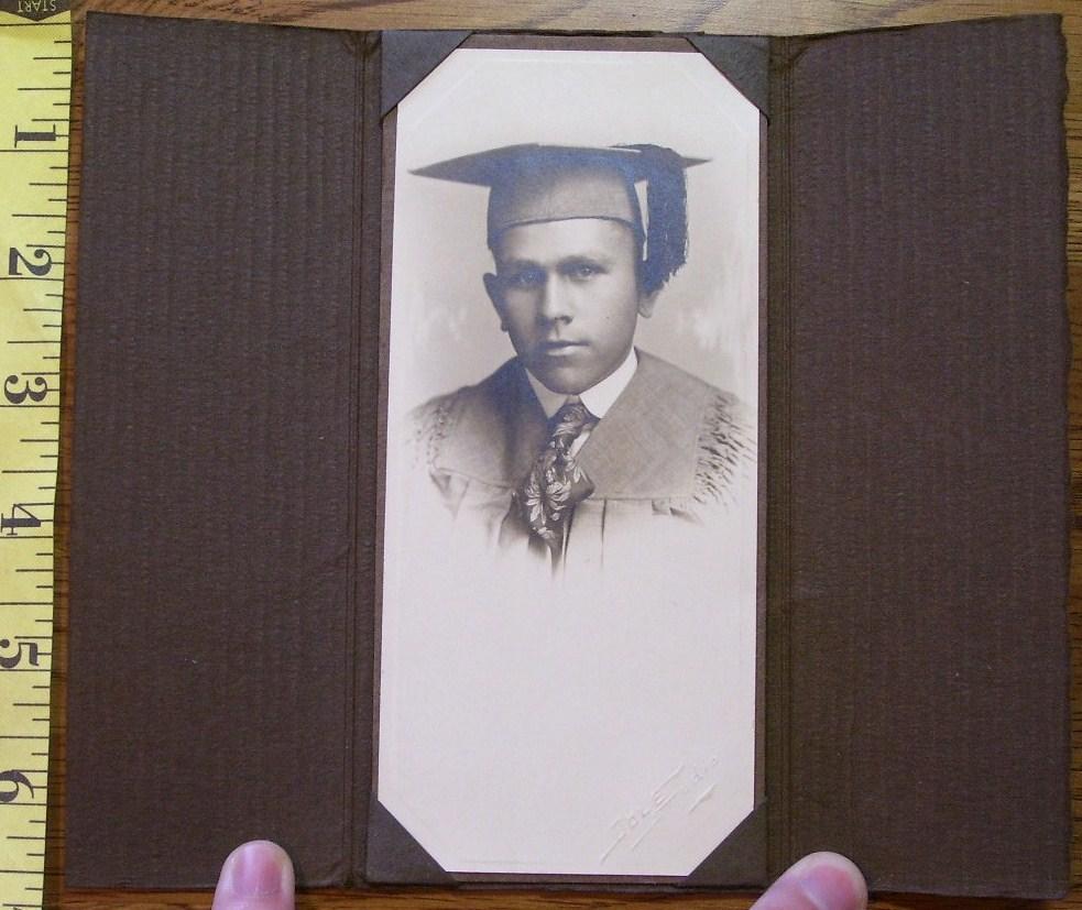 Young man grad photo  3
