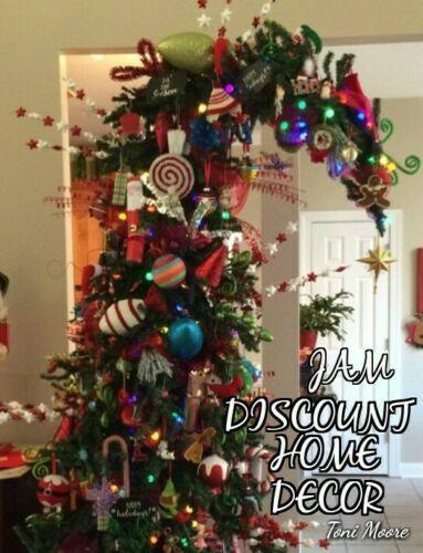 Bendable Top Alpine 10 ft tall Christmas Tree Family Fun ...