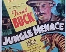 JUNGLE MENACE, 15 CHAPTER SERIAL, 1937 - $19.99