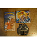 Set of 3 NOAH'S ARK Pewter Picture Frame Padded Book The Beginner Bible VHS Lot  - $24.95