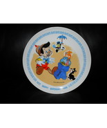 1980 Disney Happy Birthday Pinocchio Collector Plate With Original Box  ... - $35.99