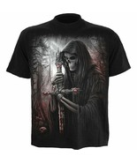 Spiral Direct Soul Searcher Grim Reaper Totenkopf Gothic Dark Fantasy T-... - $28.33+