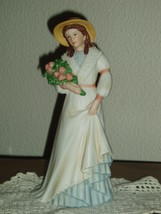 Home Interiors Victorian Figurine Charlotte Rose Homco - $10.99