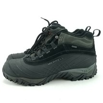 Merrell Men's Black Isotherm 6 Waterproof Hiking Trail Performance Boot ... - $65.09