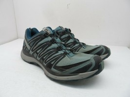 Salomon Women's XA COMP 8 WP Trail Running Shoes Aqua/Blue Size 10M - $28.49
