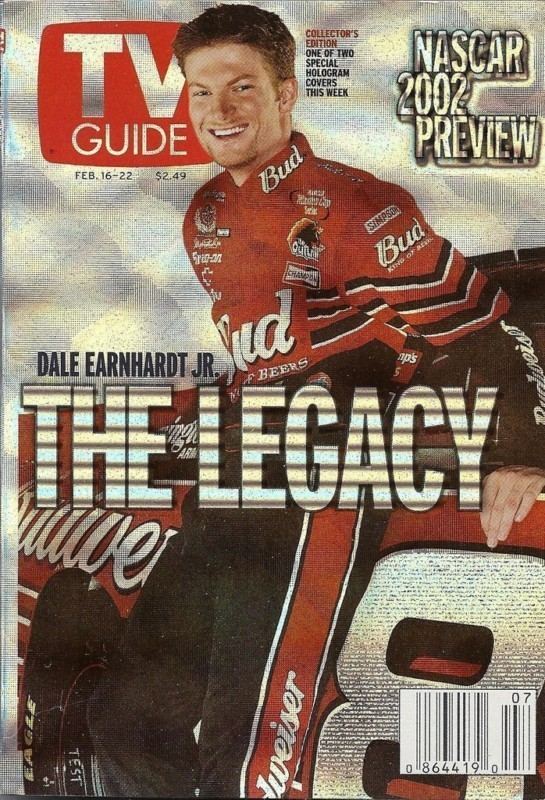 TV GUIDE SPECIAL NASCAR EDITION - THE LEGACY  - 2 DIFFERENT DRIVER COVERS