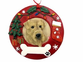 E&S Pets Airedale Terrier Personalized Christmas Ornament - $14.95