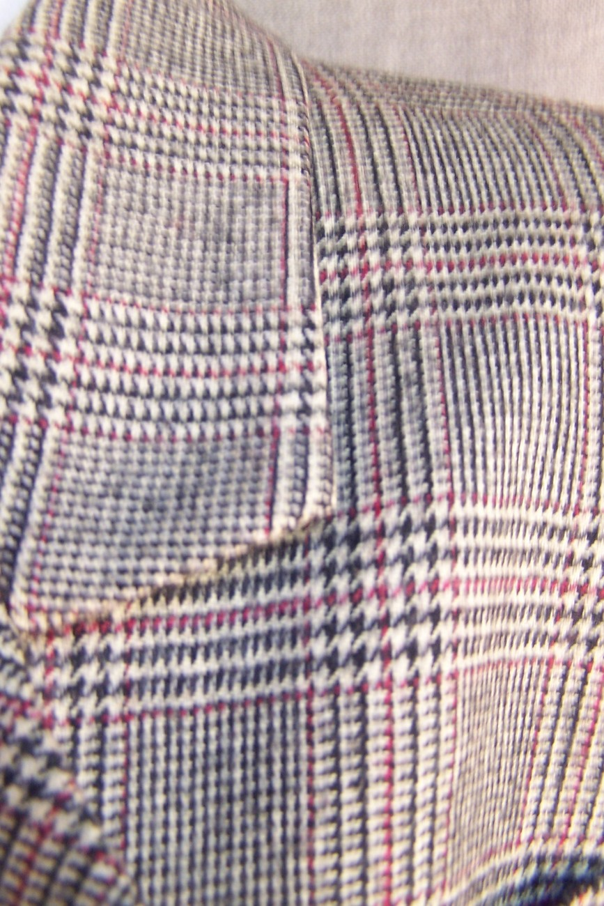 Jacket  8 10  Brown  Glen Plaid  Wool  Lord an Talylor