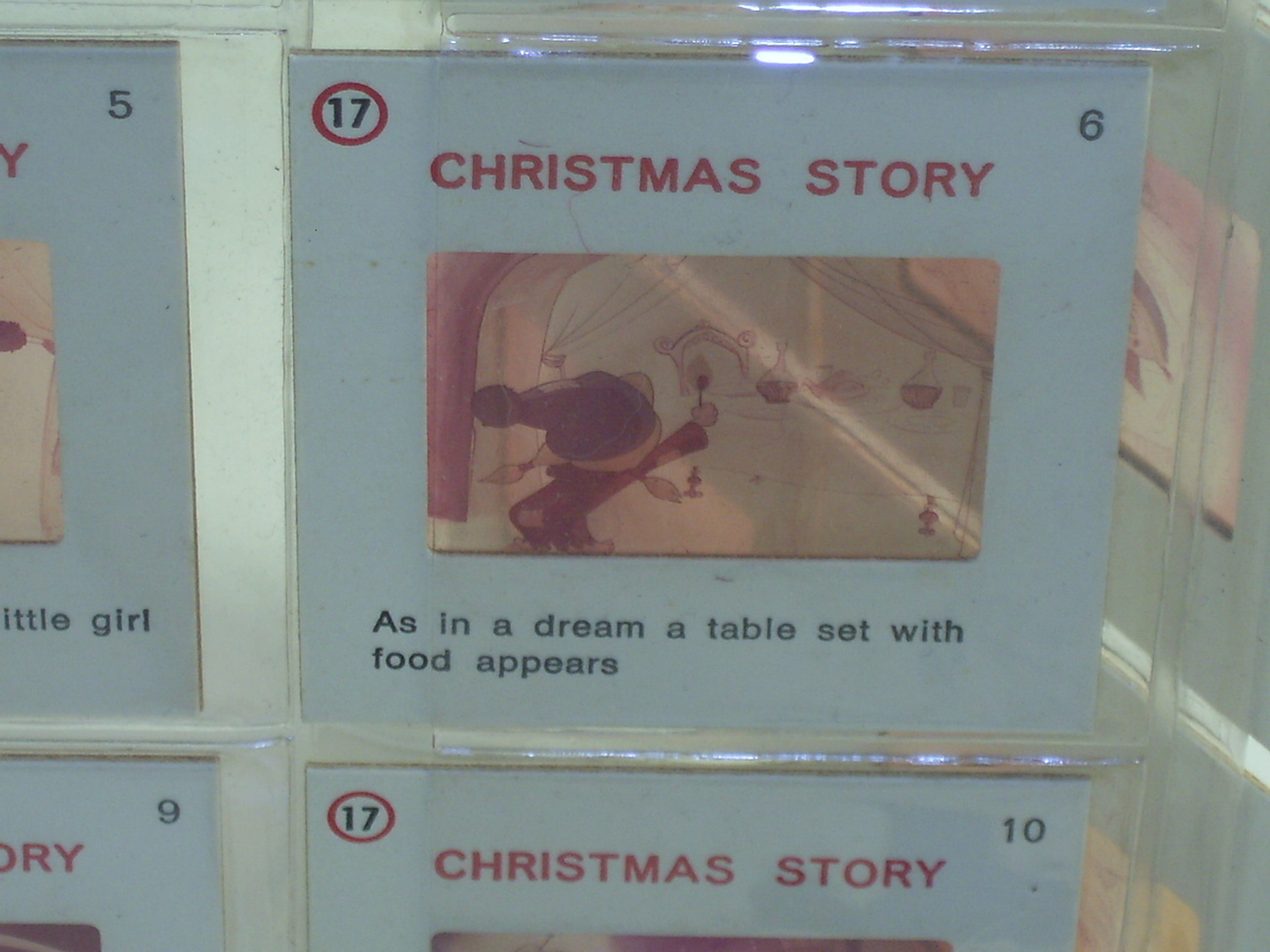 Rare Vintage Slides of The Little Match Girl Christmas Story