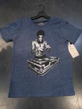 Bruce Lee DJ T shirt Heather Blue Large Small, Medium, Large, Xlarge, XXL - $26.99