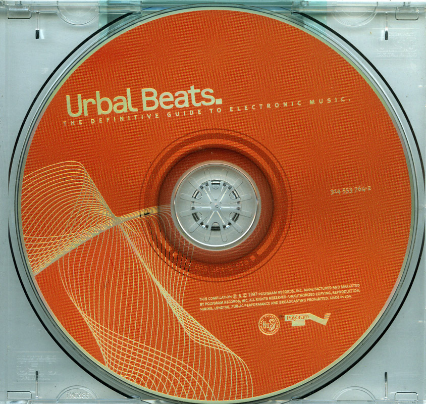 Urbal Beats 1 1997 CD Portishead,Chemical Brothers,FSOL,Prod