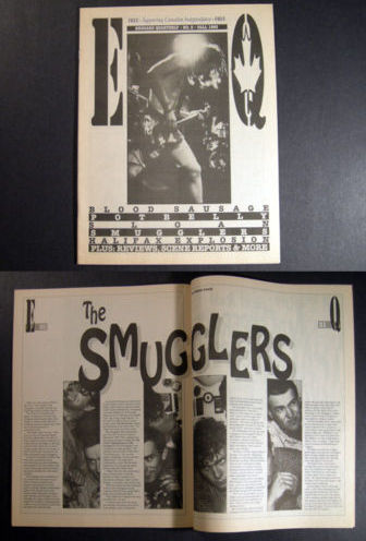 Canada ENGUARD mag 1993 Sloan Potbelly Smugglers & more