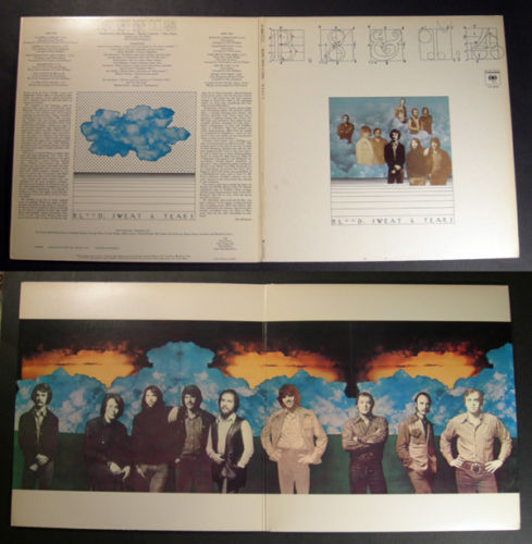 BLOOD SWEAT & TEARS B.S.& T. 4 1971 Canada LP BS&T
