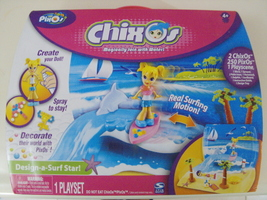 PixOs ChixOs Design-a-Surf Star! doll Playset - New - $15.00
