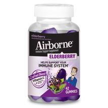 Airborne Elderberry Gummies, 42 count - 750mg of Vitamin C - $13.49