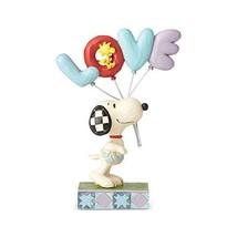Enesco Jim Shore Peanuts Snoopy with Love Balloon Figurine, 7.5 Inch, Mu... - $34.58