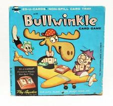 VINTAGE 1962 Ed-U-Card Bullwinkle Travel Card Game  - $59.39