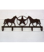 Western Coat Rack with Horse and Star - $20.00