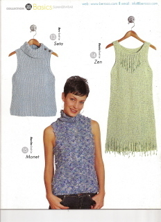 Berroco Basics Summerwear Collection No 207 1 Sweater 3 Ways