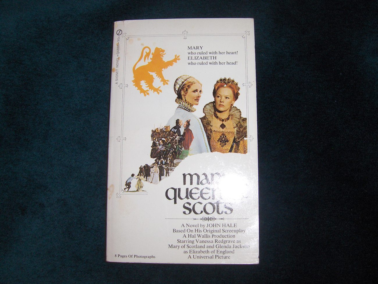 Mary,Queen of Scots Paperback Book 1972