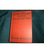 Don Sturdy Hardcover 1931 on the Ocean Bottom - $22.00