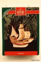 Hallmark Keepsake Ornament Santa Maria American Commemorative - $0.98