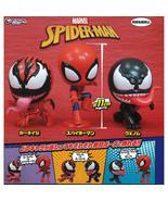 Marvel CapChara Spider-Man Mini Figure Collection 06 Venom Carnage Spide... - $13.99+